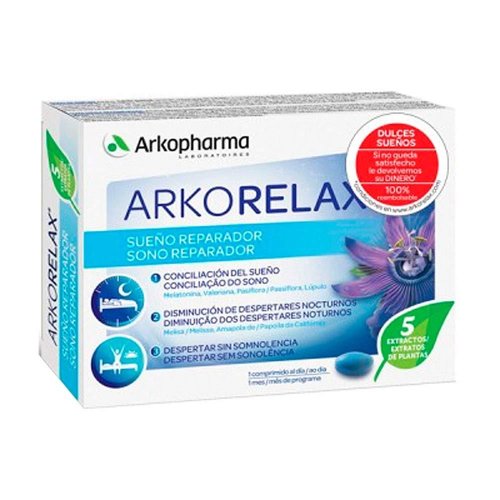 Arkpharma DUPLO Arkorelax Sueño, 2x30comprimidos: Amazon.es: Salud ...