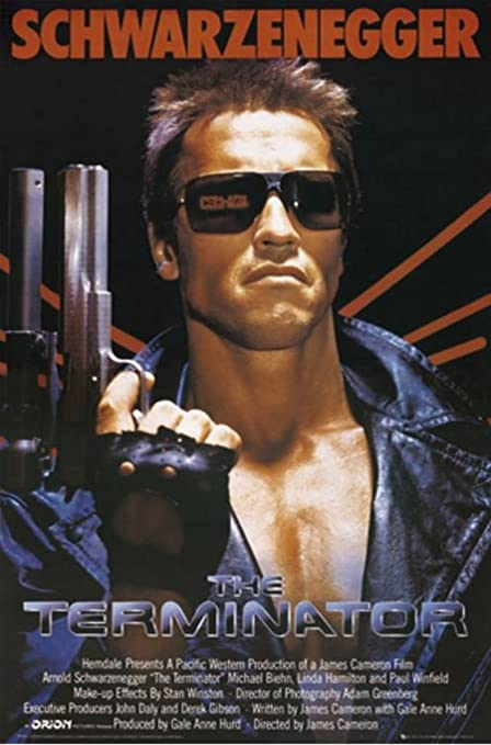Exclusive Key Art The Terminator Poster High Quality Prints