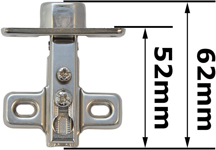 10x Mini Plein recouverment charni/ères pour porte placard meuble armoire cuisine chevet /Ø 26 mm