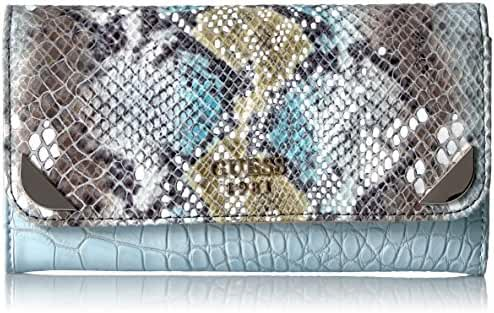 GUESS Trylee Slim Clutch - Sky Multi Wallet