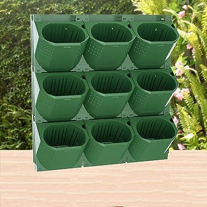 TTIK Jardín Vertical jardín Vertical Modular y Extensible CREA tu Muro Verde Vegetal Exterior decoración de Plantas: Amazon.es: Hogar