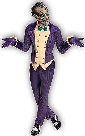 Joker traje de Batman Arkham City 4 unidades. Smoking con ...