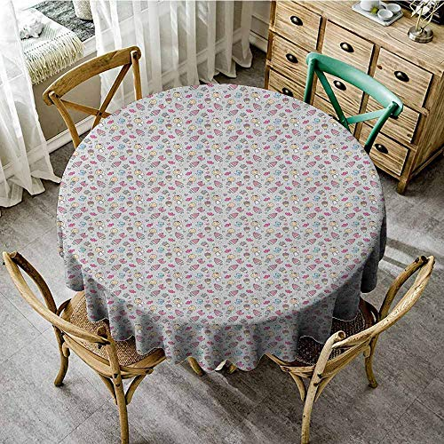 Rank-T Round Tablecloth Kitchen Table 60