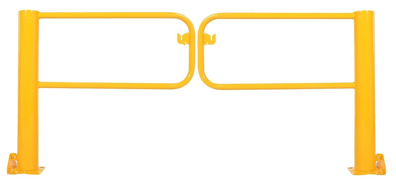 Vestil SDG-8 Swivel Dock Gate Pair for 8 Door Yellow Pack of 2
