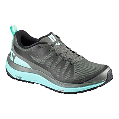 Salomon Hiking Odyssey Women's Pro SneakersGreyMeshTextile JFKTlc31