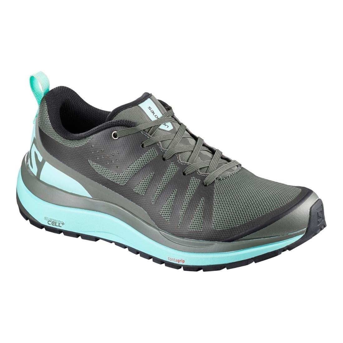 Salomon Women Odyssey Pro Low Hiking Shoes B01MRO4LE5 6|CASTOR GRAY/EGGSHELL