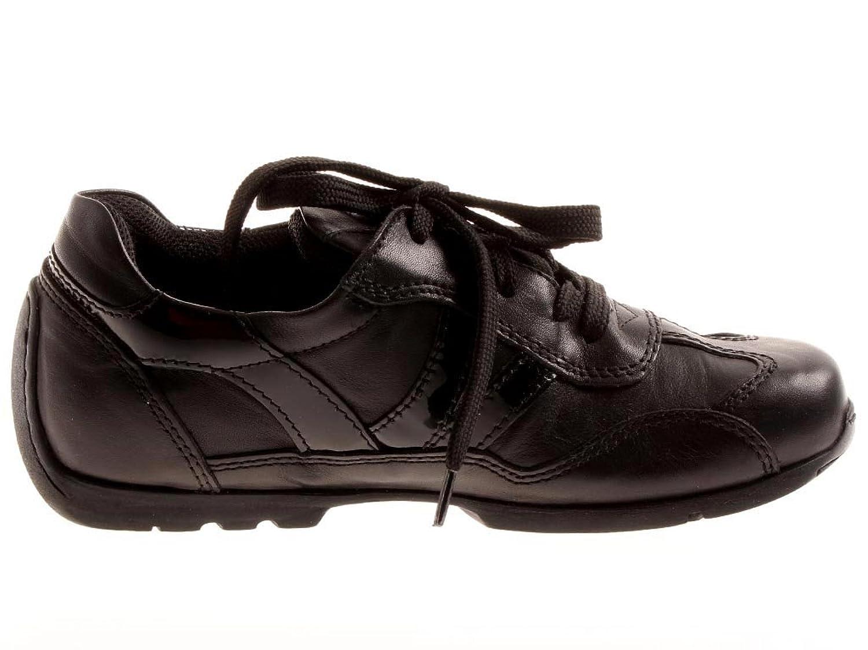 Footprints Schuhe ''Darlington'' aus VelourlederTextil in schwarz grau mit schmalem Fussbett