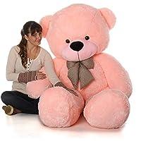 Buttercup Cotton Smart Teddy Bear (Pink, 4 ft)