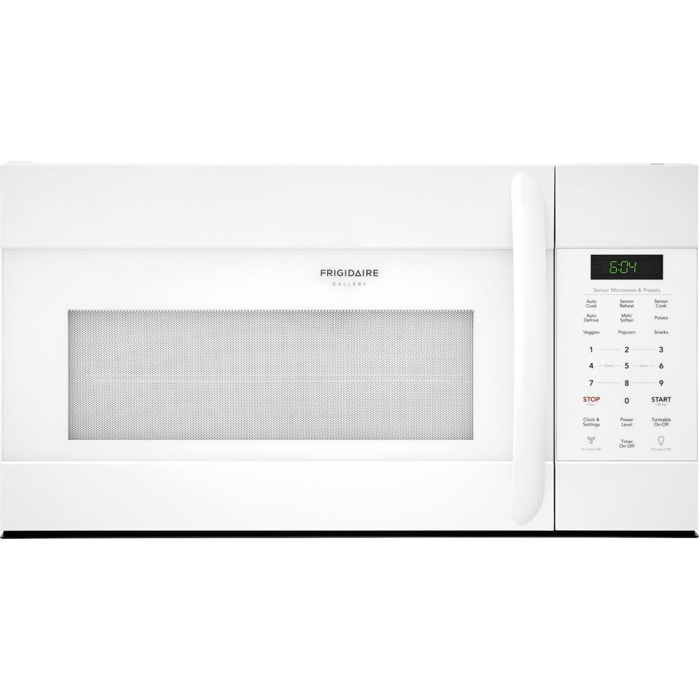 Frigidaire FGMV176NTW Gallery Series 30 Inch Over the Range Microwave Oven with 1.7 cu. ft. Capacity, 1000 Cooking Watts in White