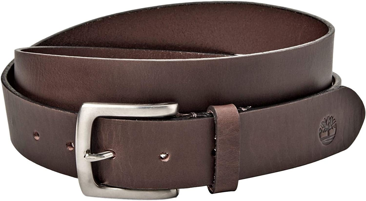 Timberland Mens Belt Genuine Leather Dressy Classic Black or Brown Sizes 32-42
