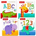Fisher Price My First Books Set Of 4 Baby Toddler Board Books Abc Book Colors Book Numbers Book Opposites Book