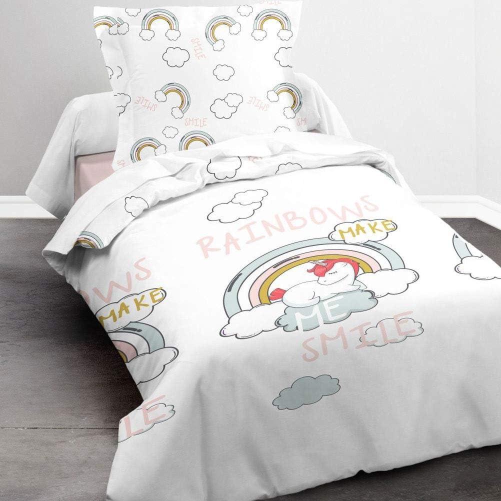 TODAY - Juego de Funda nórdica Infantil, algodón, Multicolor, 140 x 200 cm: Amazon.es: Hogar