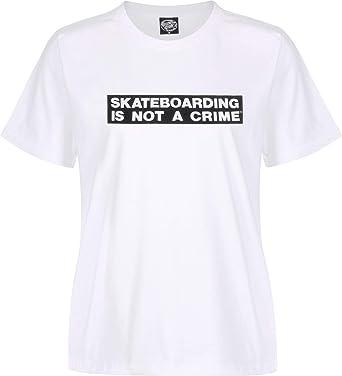 Santa Cruz Not a Crime W Camiseta White: Amazon.es: Ropa y ...