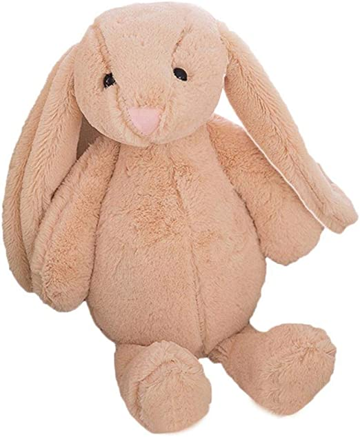 45cm Cute Rabbit with Pink Dress Baby Plush Toy Soft Bunny Rabbit Doll Gift Kids