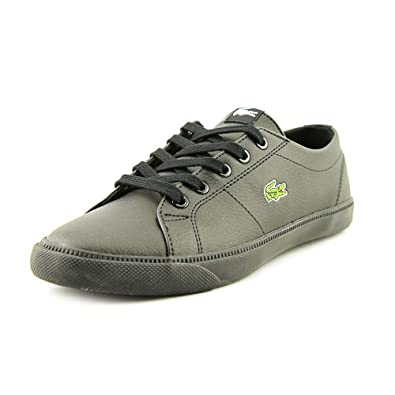 5c085eaa0 Lacoste Marcel BTS SPC Youth Boys Black Sneakers Shoes UK 1  Amazon.co.uk   Shoes   Bags