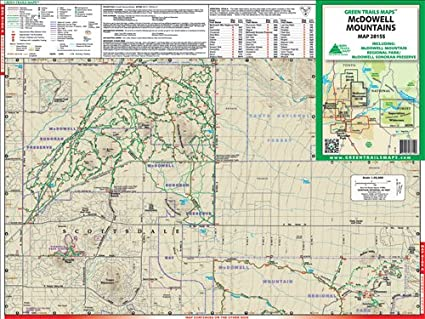 Amazon.com : Green Trails Maps, Arizona (McDowell Mountains 2815SQ ...