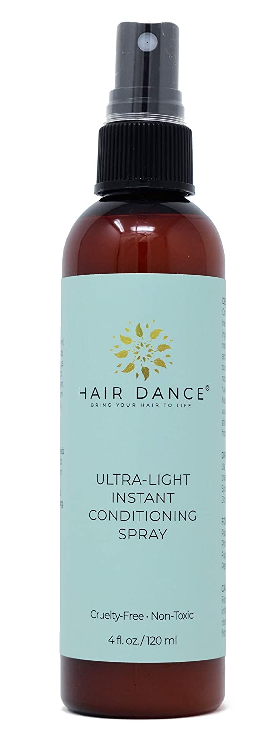 Ultra Light Leave-in Conditioner, No Sulfates, Parabens, Silicons Artificial Fragrance. Lemongrass Oil Scented