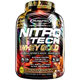 Cheap MuscleTech NitroTech Whey Gold, 100% Whey Protein Powder, Whey Isolate and Whey Peptides, Chocolate Banana Split, 5.5 Pound