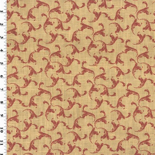 ifs Vintage Linen Home Decorating Fabric, Fabric By the Yard (Home Decorating Fabric)