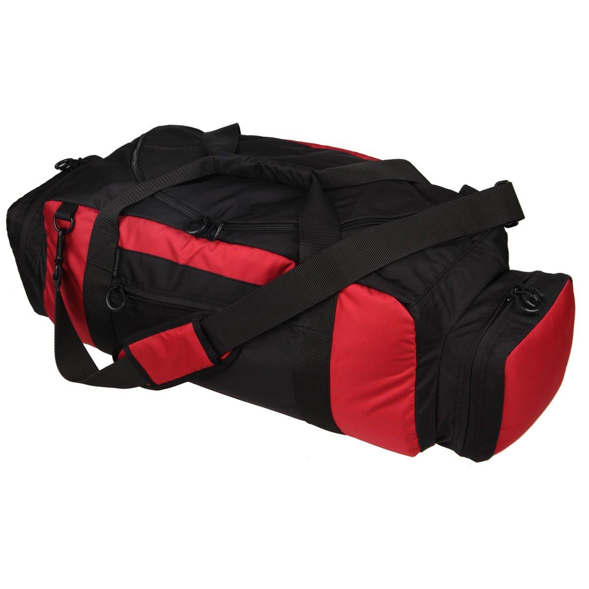 BLACKHAWK Diversion Carry Workout Bag 2T Blk//Red