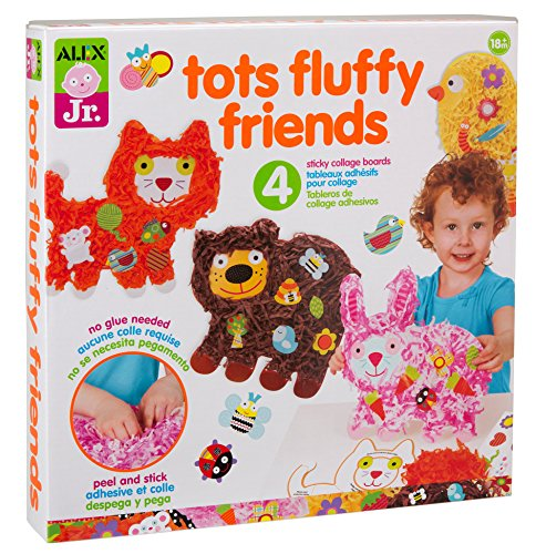 ALEX Jr. Tots Fluffy Friends Paper Animal Activity ()