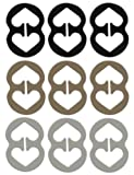Amazon Price History for:9 Piece Bra Strap Clips - Racer Back - Conceal Straps - Cleavage Control