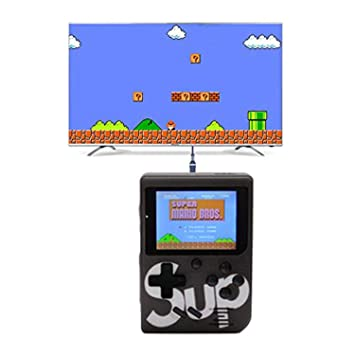 Crystal Digital SUP 400 in 1 Game Box 8 GB with Mario, Contra, 400 Game (Black)