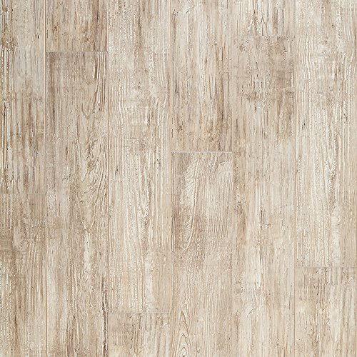 Mannington Hardware 28121 (S) Restoration Collection Nantucket Laminate Flooring, 12Mm, Sea Shell