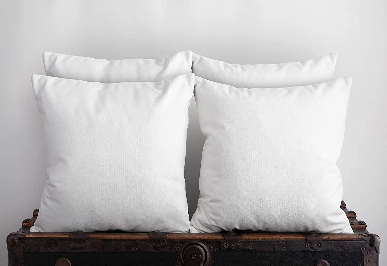 Utopia Bedding Coussins de Garnissage Coussin Int/érieur Blanc, Lot de 4 30 x 50 cm | 12 x 20 Housse en Polycotton