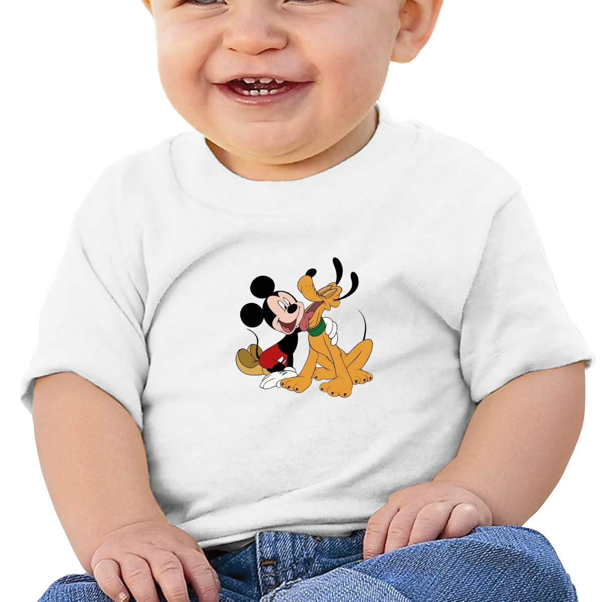 SakanpoFriendly Toddler//Infant Short Sleeve Cotton T Shirts White