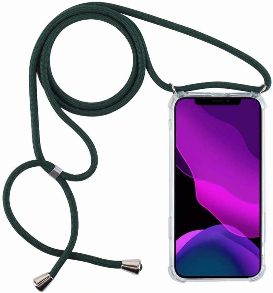 2ndSpring Funda con Cuerda Compatible con Realme X2//Realme XT//K5,Colgante Collar Correa de Cuello Cadena Cord/ón,Violeta