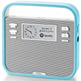 Invoxia Smart portable Alexa Speaker, Blue