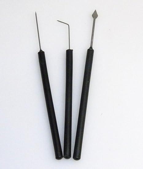 Juego de aguja de disección (Tres piezas: Amazon.es: Industria, empresas y ciencia