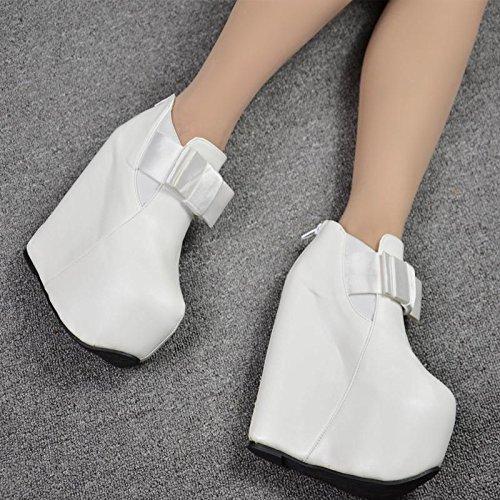 cuestas Martin invierno 5 cortas con altura botas En de y 873 centímetros otoño 17 botas blanco XiaoGao e xP4fqwHO