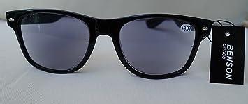 b437b4aef7e5d5 GKA Nerd 2in1 Sonnenbrille mit Sehstärke Sonnenlesebrille mit Federbügel  Lesebrille braun-leo oder schwarz Damen