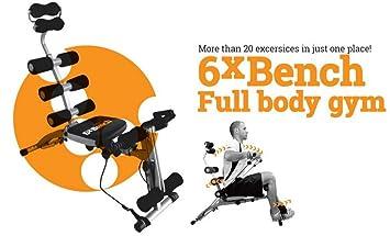Banco de cámara Máquina de musculación abdominal Total Abdo Gym ...