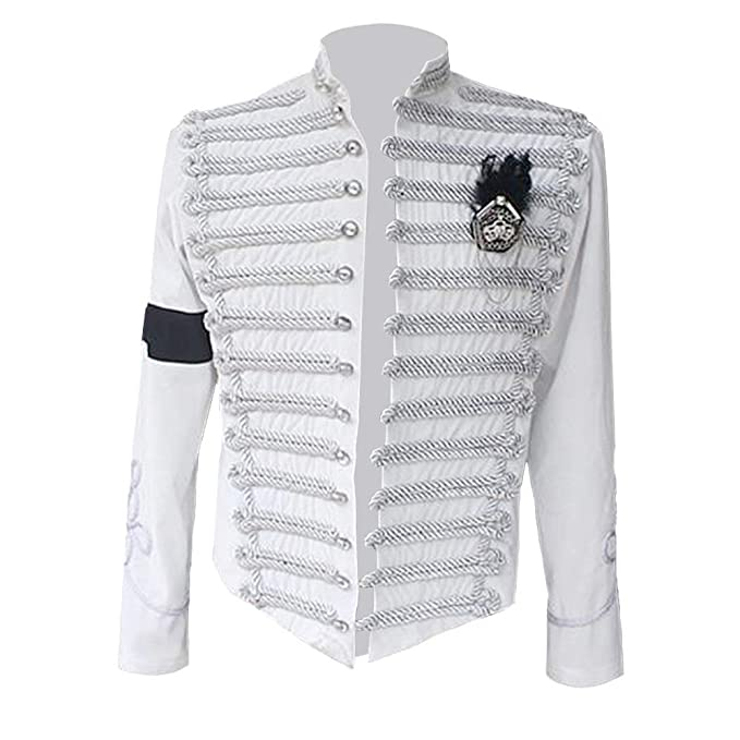 Amazon.com: Thriller9 Michael Jackson Chaqueta rara punk ...
