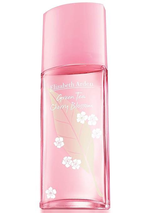 Elizabeth Arden, Green Tea Cherry Blossom, Agua de colonia para mujeres 100 ml