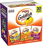#1: Pepperidge Farm, Goldfish, Crackers, Classic Mix, 29 oz, Variety Pack, Box, Snack Packs, Pack Of 30