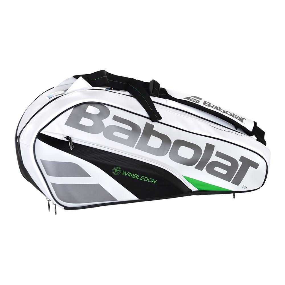 Babolat Pure Wimbledon RH X6 Racket Bag White One Size
