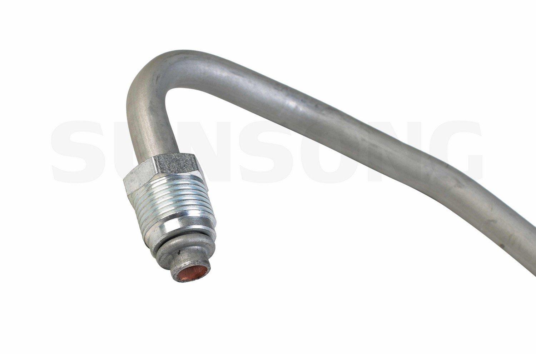 Sunsong 3601441 Power Steering Return Line Hose Assembly