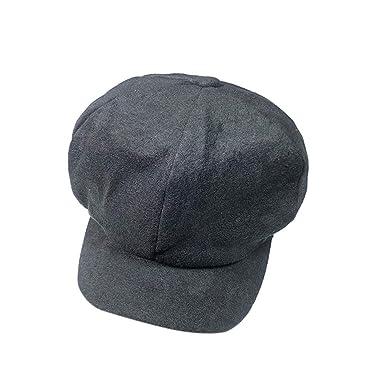 243e376083b Culater® Autumn Winter Unisex Solid Color Soft Baseball Cap Solid Berets  Hat Cap  Amazon.co.uk  Clothing