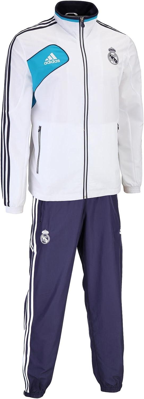 adidas Real Madrid C.F. - Chándal de presentación, 2012-13: Amazon ...