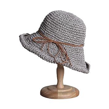 magasiner pour authentique super mignon acheter en ligne DaoRier pour Femme d'été Chapeau de Soleil Crochet Fait Main ...
