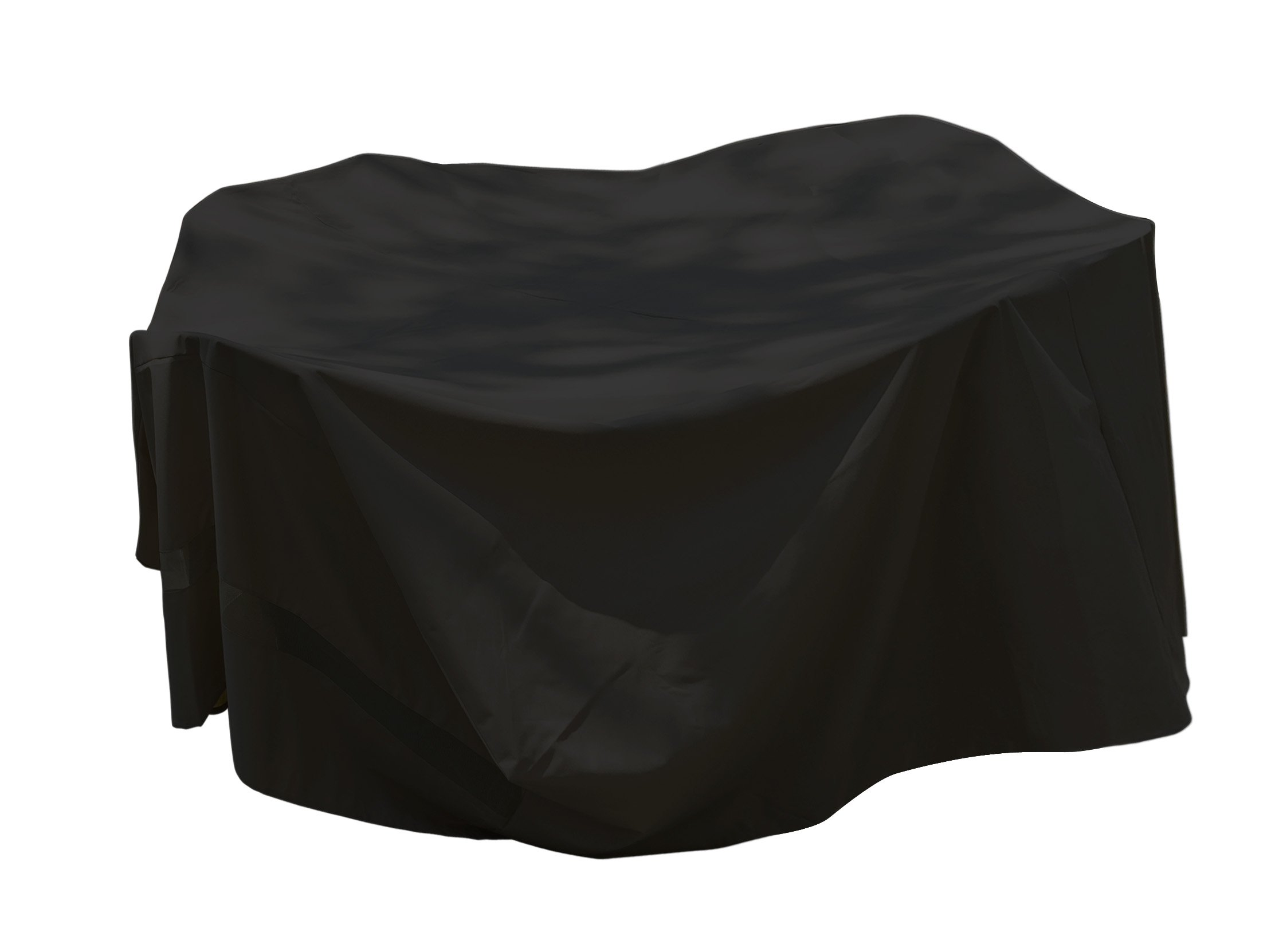 Backyard Basics 07217GDBB Large Rectangle Patio Set Cover, 114-Inch by 72-Inch by 30-Inch