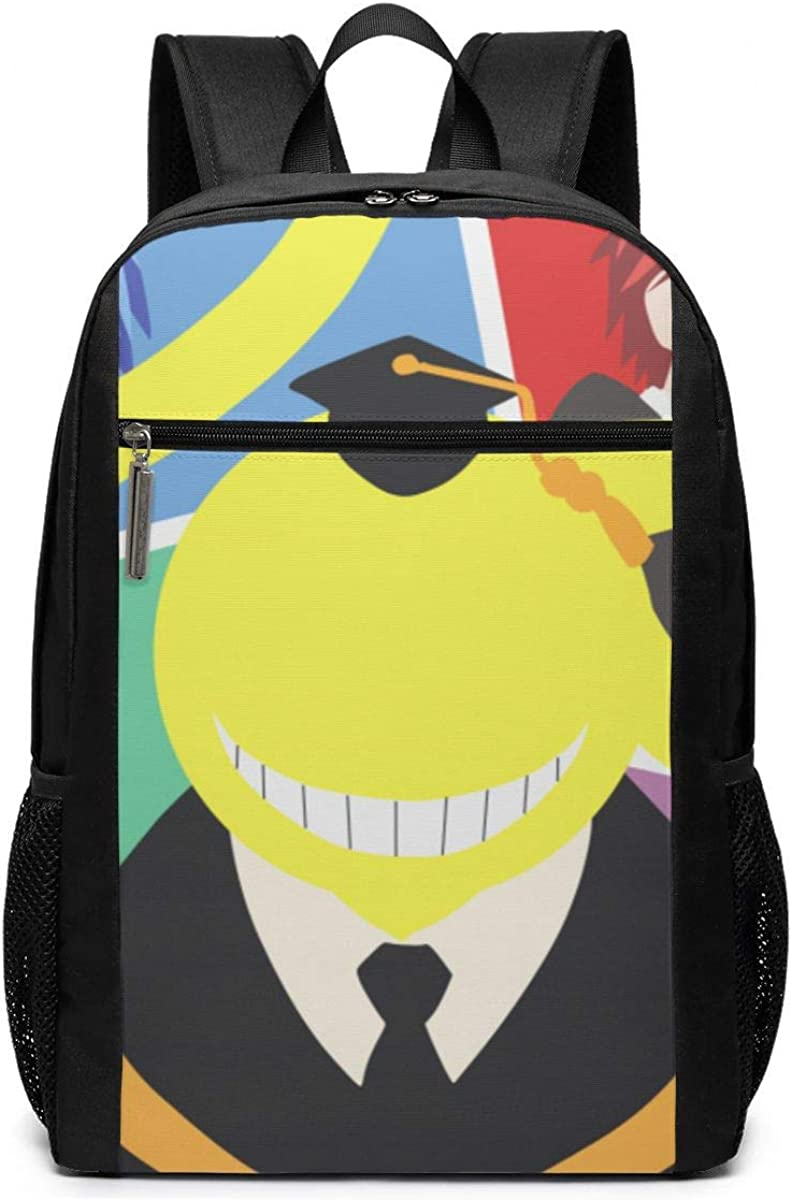 Assassination Classroom 17 Inch Laptop Backpacks Classic College Bookbag Casual Daypack