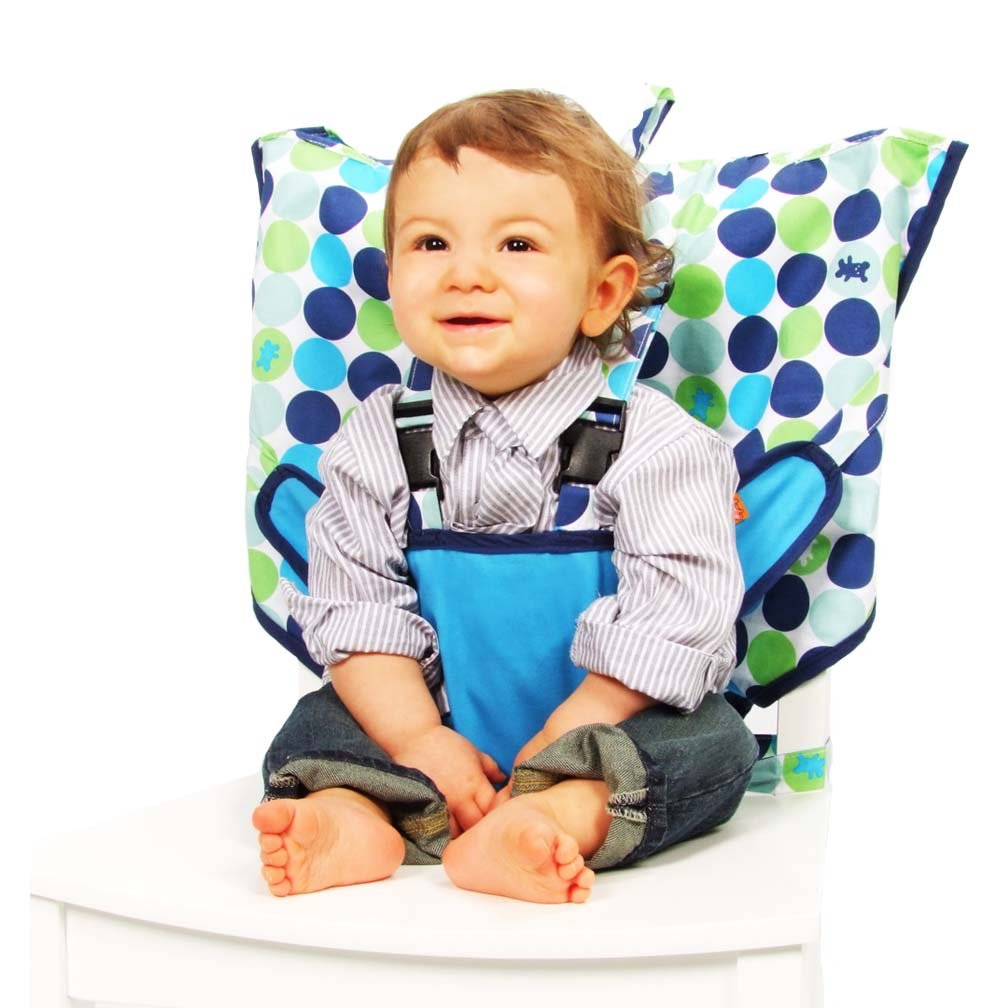 My Little Seat My Little Seat Travel High Chair, Biggy Buttons
