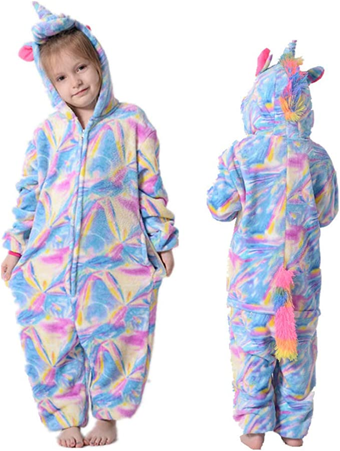 Pijamas de Una Pieza para Niño Niña, Pijama Disfraz Stitch Traje ...