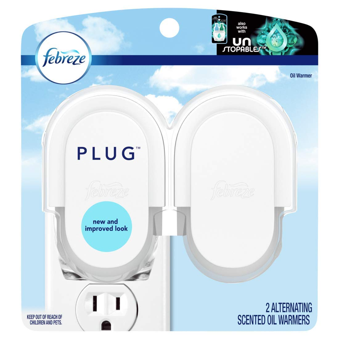 Amazon com : Febreze PLUG Air Freshener Refill with Downy April