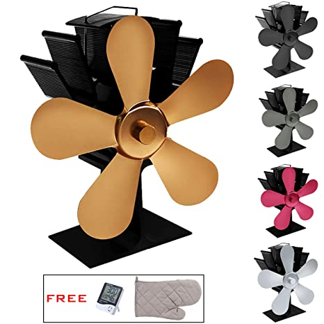 Ventilador estufa para Log Burner/Chimenea/Estufa Leña ...